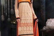 Elaborate and straight cut Salwar Kameez - Nihal Fashions