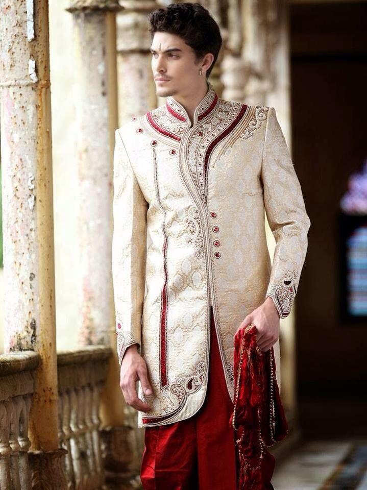 Designer Wedding Sherwani Bringing Timeless Appeal - Indian Clothing ...