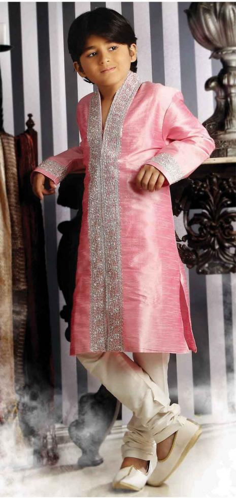 Comfortable and Unique Embroidered Sherwani for Kids - Indian ...