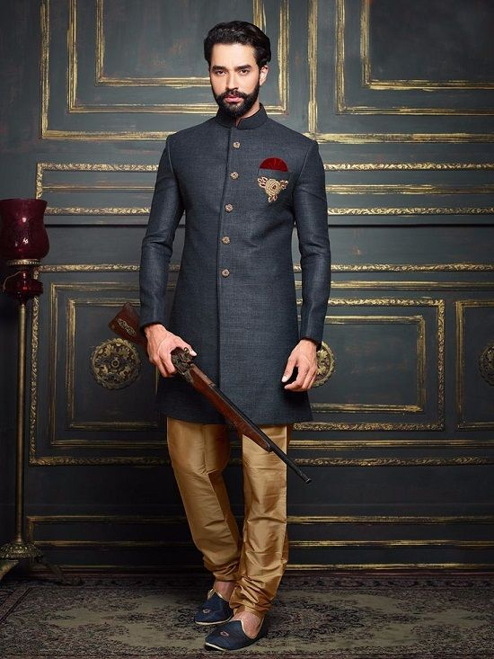 0fe03448e6 Buy Exquisite Wedding Sherwanis and Suits Online at Nihal Fashions ...