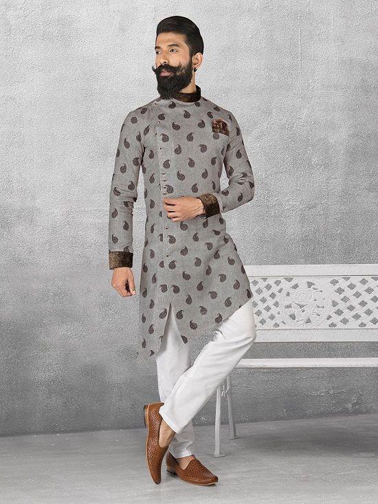 6509fec775 What is Linen Kurta Pajama for Men - Indian Clothing Blog