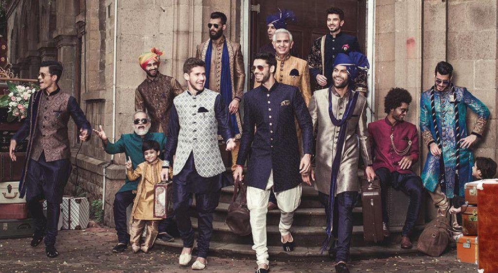 3889ed8e6d Get the Best Collection of Indian Designer Wedding Men's Wear Online ...