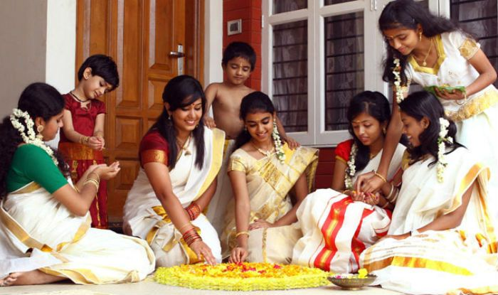 Dressing Styles for Onam - Nihal Fashions