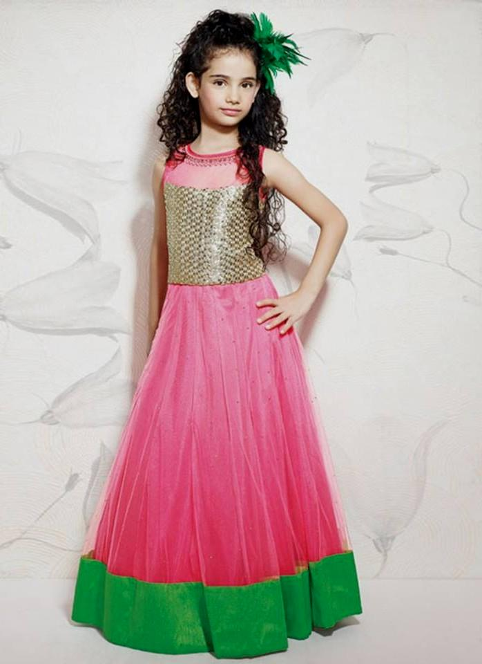 Designer dresses for baby girls - Nihal Fashions