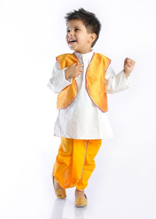 Dhoti –kurta for kids - Nihal Fashions