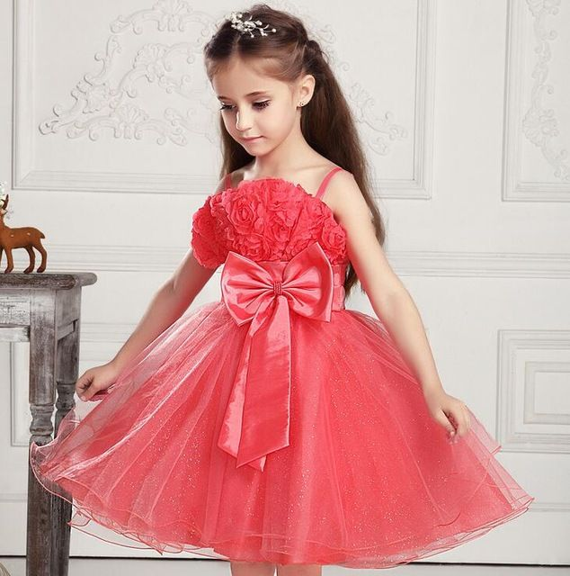 Flowering dresses for baby girls - Nihal Fashions