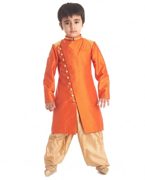 Indo-western dresses for kids - Nihal Fashions