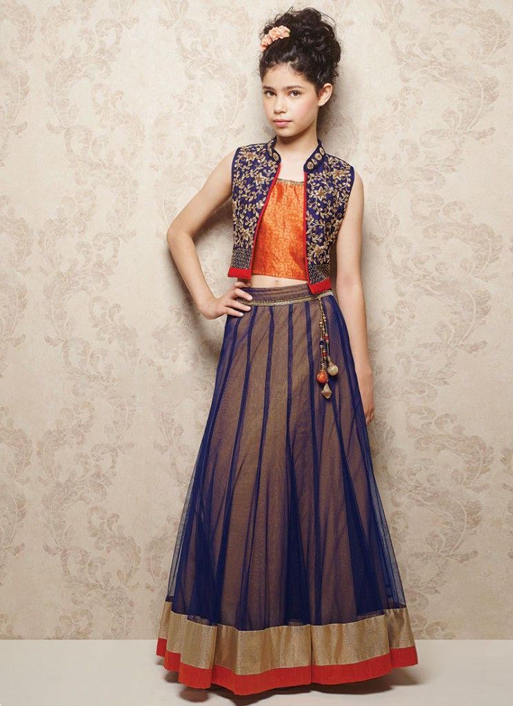 Lehenga choli for kids - Nihal Fashions
