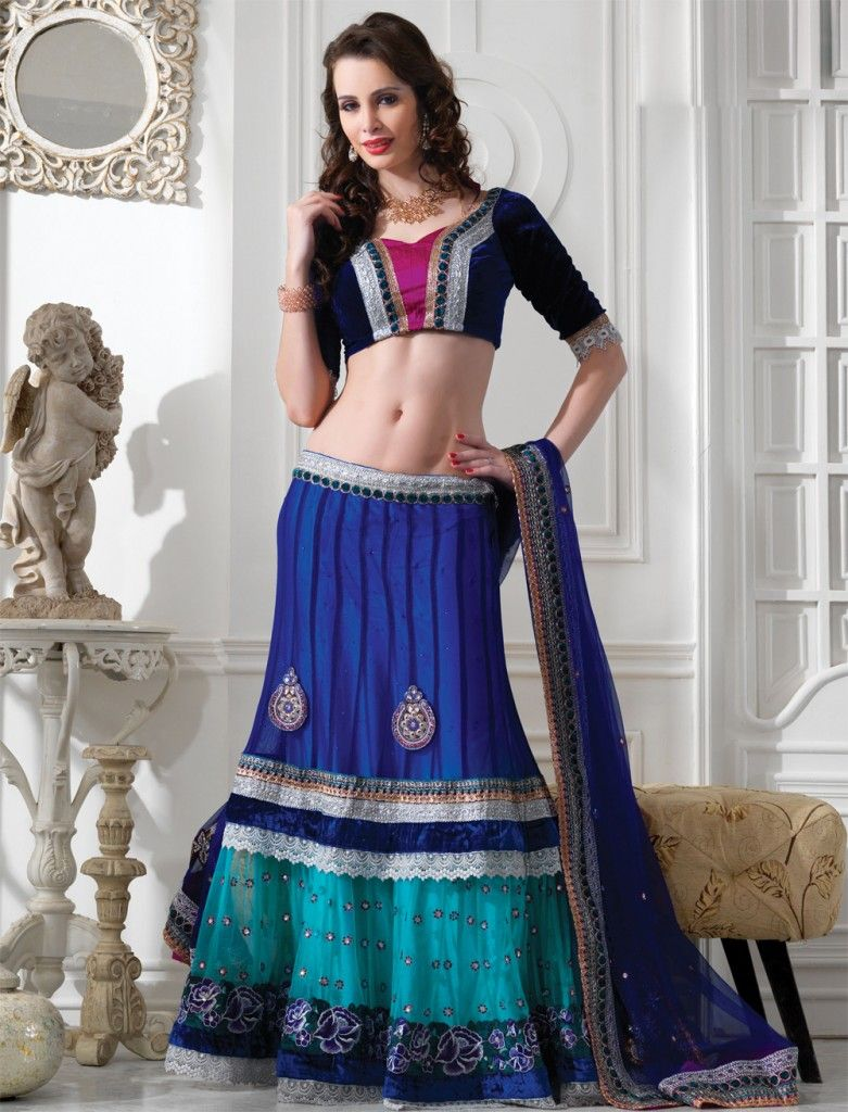 Ghagra- Choli - Nihal Fashions
