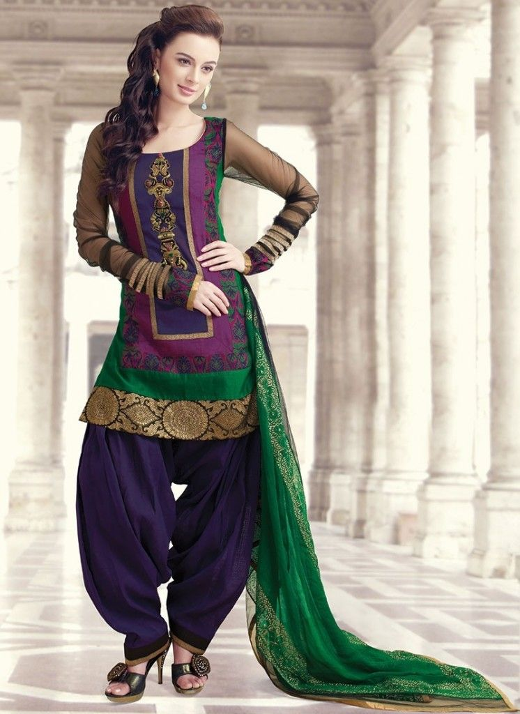 Patiala suits Salwar Kameez - Nihal Fashions