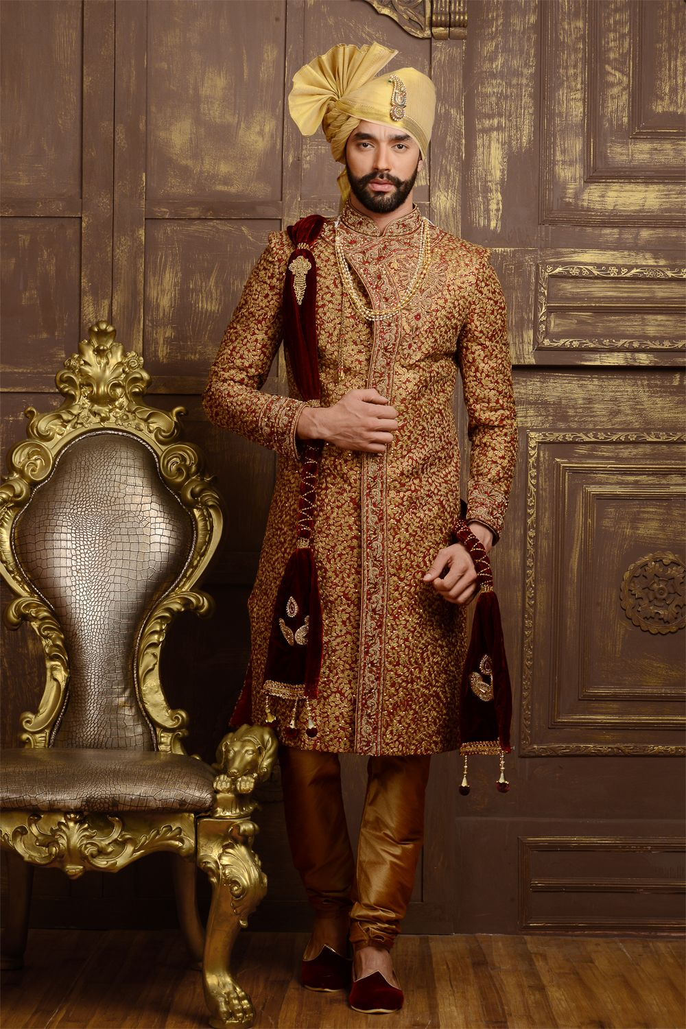 Special occasions to wear a sherwani in 2017 nihal for Wedding dresses for men 2017