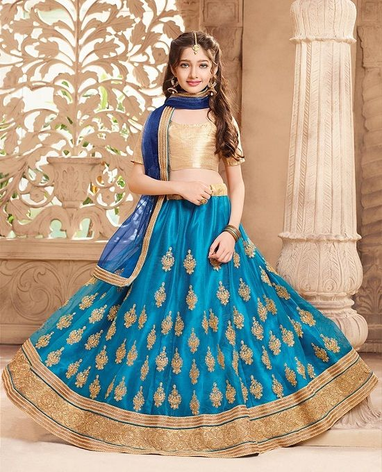 682f2c1031a99f Useful Tips To Dress Your Girl In A Traditional Lehenga Choli ...