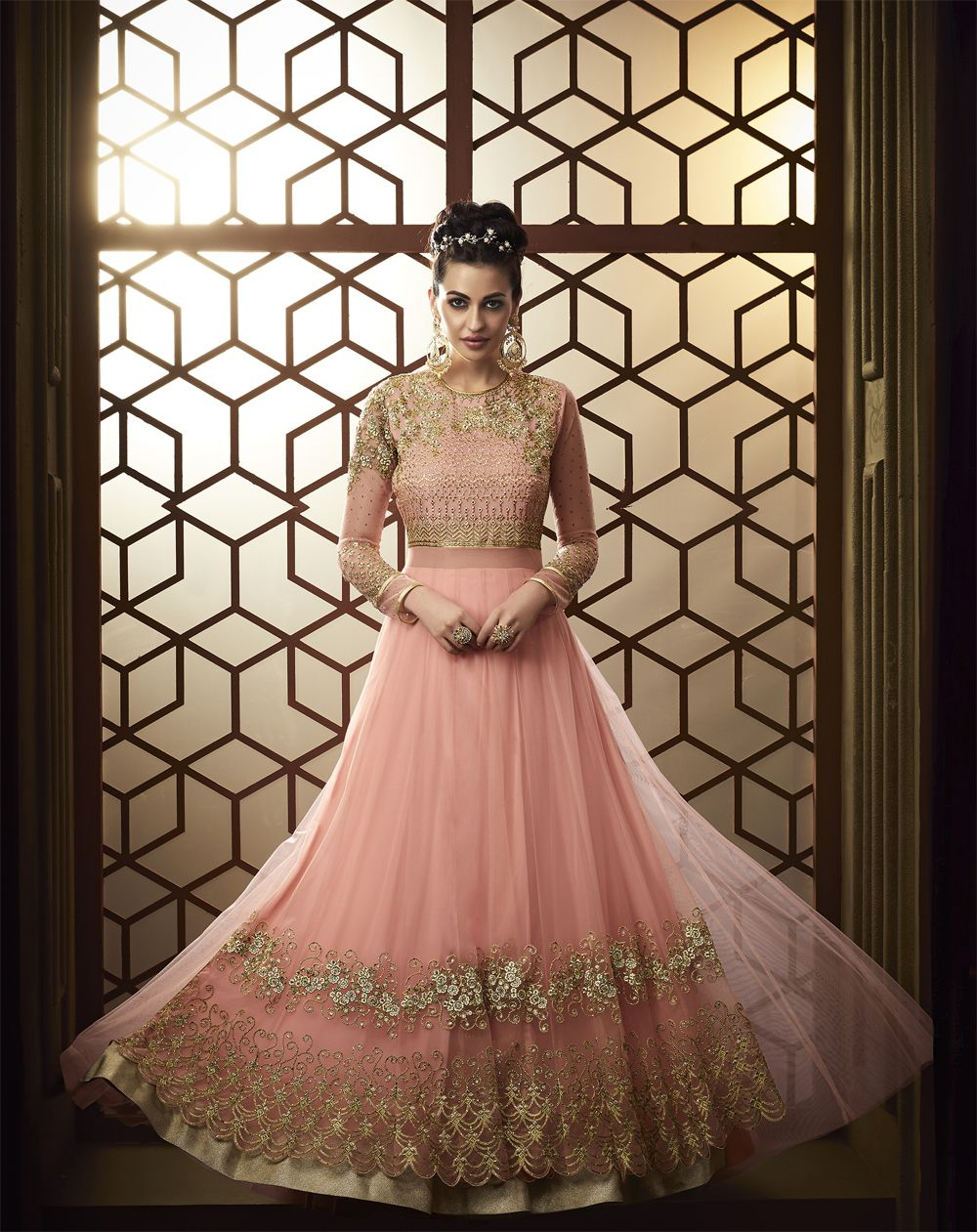 c072a878ab Traditional Indian wear needs styling and the right layering. The most  popular traditional outfits include lehenga choli combos, salwar kameez,  kurta ...