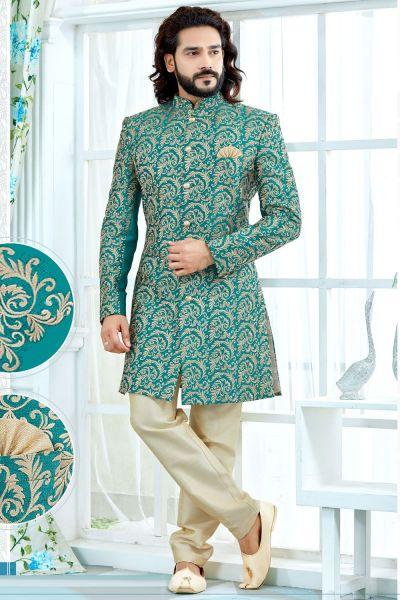 Rama Art Silk Sherwani (NMK-4130)