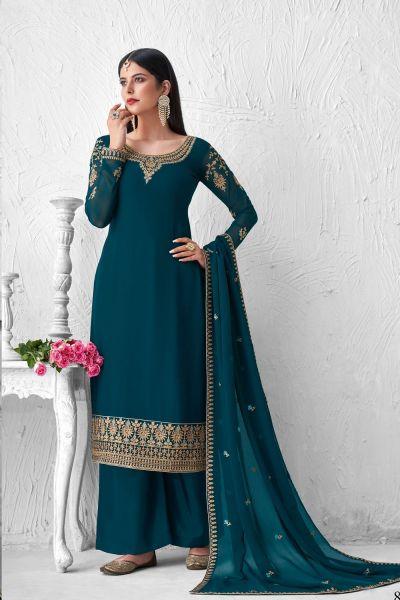 Rama Georgette Salwar Suit (NWS-6029)