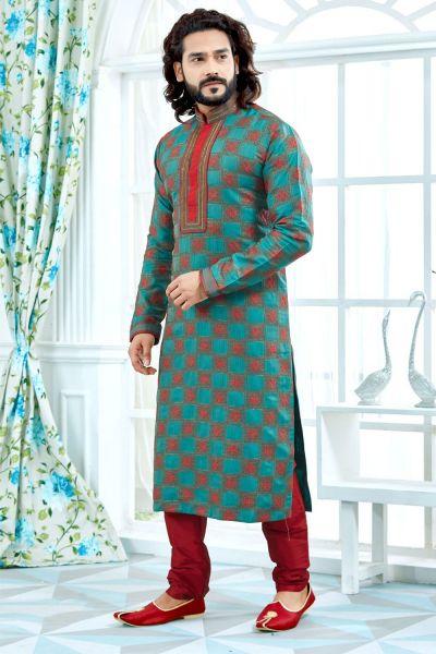 Rama Jaquard Kurta Pajama (NMK-4152)