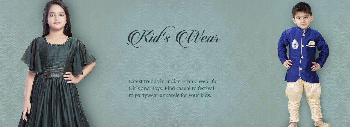 Kids Indian Dresses Online